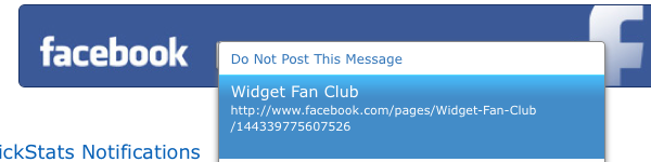 Share Email on Your Facebook Fan Page